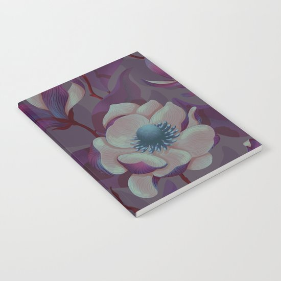 magnolia bloom - nighttime version Notebook