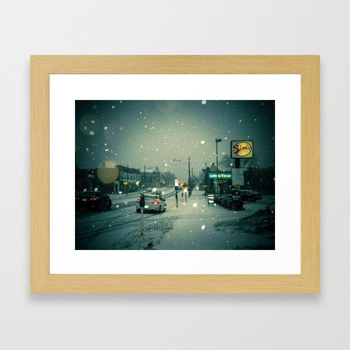 Where I Grew Framed Art Print