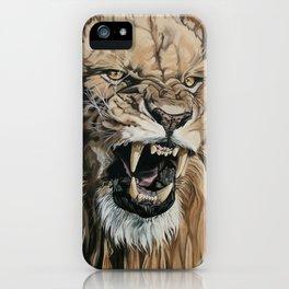 Jealous Roar iPhone Case