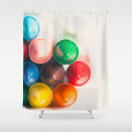 Bundle of Crayons Shower Curtain