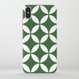 Palm Springs Screen: Kelly Green iPhone Case