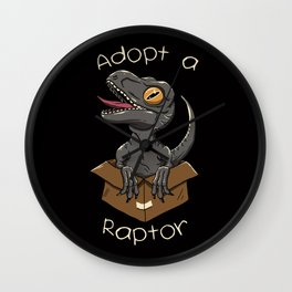 Adopt a Raptor Wall Clock