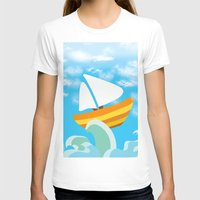 sail T-shirts featuring Sail by Lany Nguyen