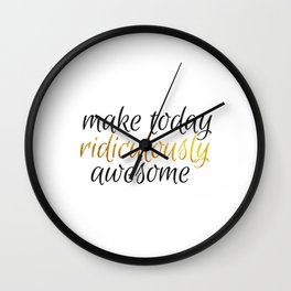 ridiculously awesome Wall Clock