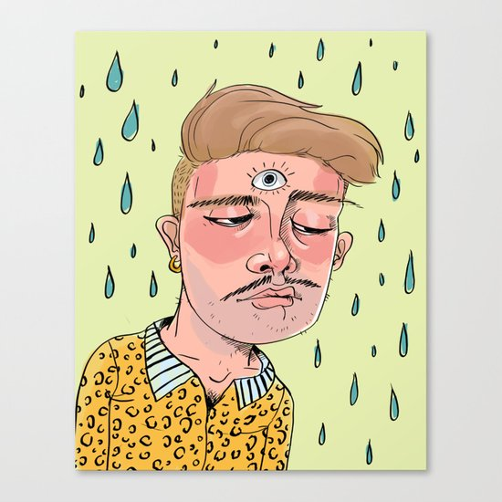Sad Enlightenment Canvas Print