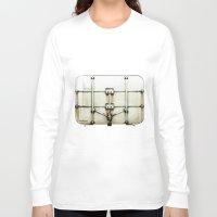 metal Long Sleeve T-shirts featuring metal by alina vasile