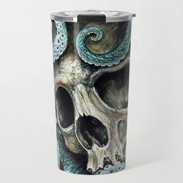 Please my love, don't die so far from the sea... Travel Mug