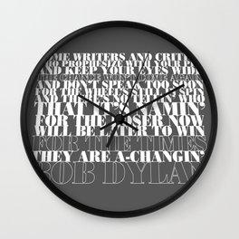 Bob Dylan song Wall Clock