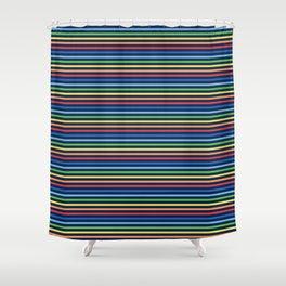 Vintage T-shirt No6 Shower Curtain