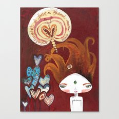Friends-4-ever Bhoomie Canvas Print