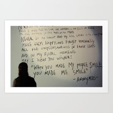 -anonymous- Art Print