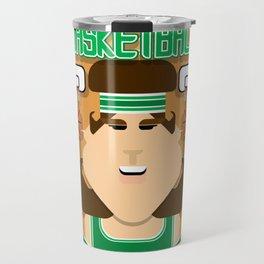 Basketball Green - Alleyoop Buzzerbeater - June version Travel Mug