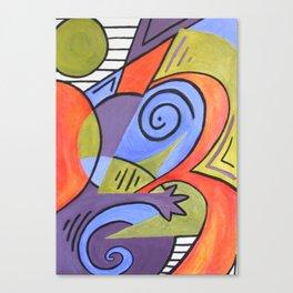 Lazy Lizard Canvas Print