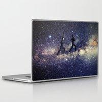 running Laptop & iPad Skins featuring Running by Cs025