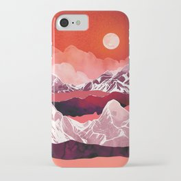 Scarlet Glow iPhone Case
