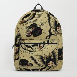 Old School Pattern Backpack
