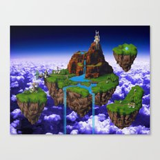 Floating Kingdom of ZEAL - Chrono Trigger Canvas Print