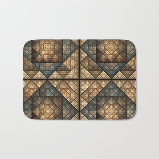 Church Window Pattern Bath Mat