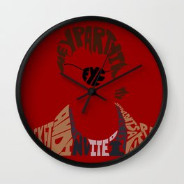 xander harris buffy Wall Clock