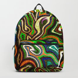 Abstract #1 - I Contrast Punch Backpack