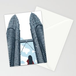 Petronas Twin Towers Stationery Cards