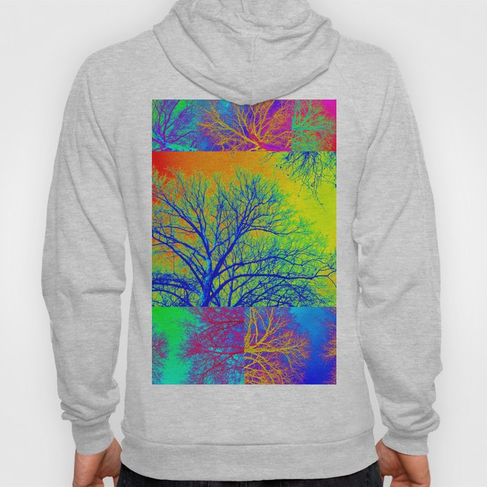 Rainbow Trees Hoody