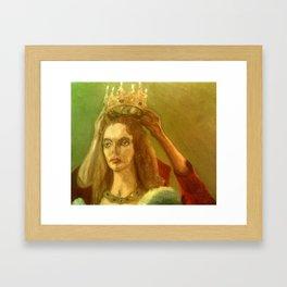 Taking Off The Crown Framed Art Print