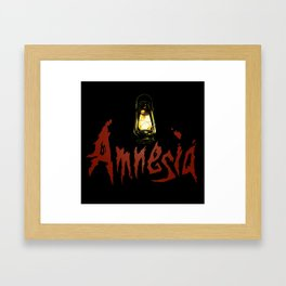 Amnesia Framed Art Print