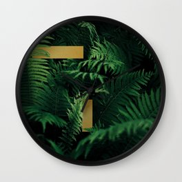 Plant Collection Wall Clock