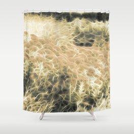 Plasma Plants Shower Curtain