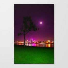South Perth Foreshore Canvas Print