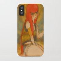 santa monica iPhone & iPod Cases featuring Santa Monica by Daytwah