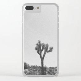 JOSHUA TREE IV Clear iPhone Case