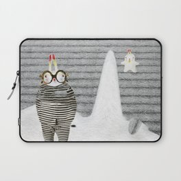 Time between rabbits, lies and truth Laptop Sleeve