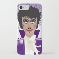 prince iPhone & iPod Cases featuring Prince by Joe Pugilist Design