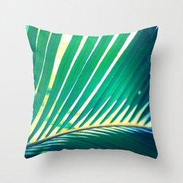Tropical Exuberance I Throw Pillow