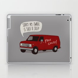 Creeper Van Laptop & iPad Skin
