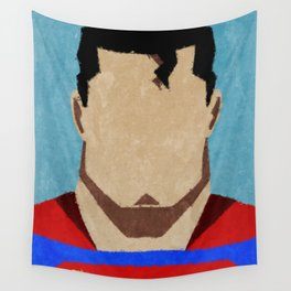 superman paint Wall Tapestry