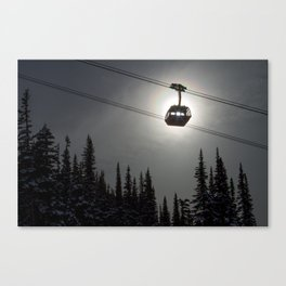 Sun Through the Gondola Canvas Print