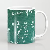 math Mugs featuring Math Equations by WIGEGA
