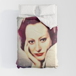 Joan Crawford, Vintage Actress Comforters
