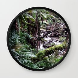 Tropical Forest 09 Wall Clock