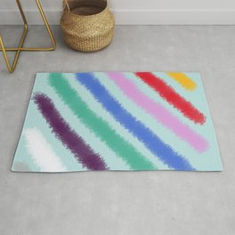 Diagonal Stripes Rug