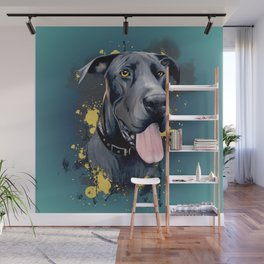 Great Dane Wall Mural