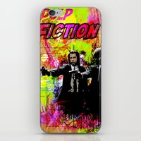 pulp fiction iPhone & iPod Skins featuring Pulp Fiction  by Zoé Rikardo