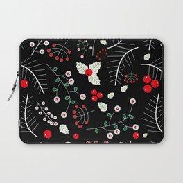 mistletoe black Laptop Sleeve