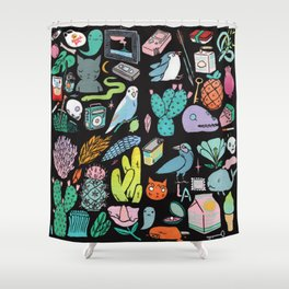 Various Objects III Shower Curtain