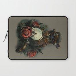 Sir Owl. Steampunk Laptop Sleeve