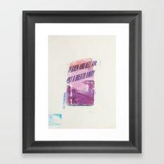 HEAVEN AND HELL 2 Framed Art Print