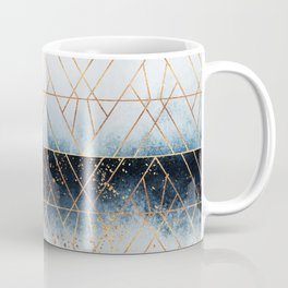 Winter Blue Geo Coffee Mug